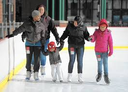 Glen Burnie West Sign Of The Season Town Center Ice Rink Is Opening