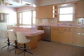 Hey Daddy o This pink 1950s American kitchen is genuinely stuck