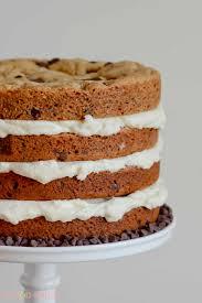 Chocolate Chip Cookie Layer Cake Lemon Sugar