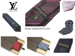 louis vuitton lv ties for men business accessories high copies