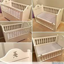 chambre bois blanc chambre bébé complète en bois blanc modèle unique a vendre