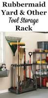 Rubbermaid Shed Tool Hangers by 107 Best Garage Storage Solutions Images On Pinterest Attic