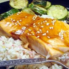 Maple Soy Glazed Salmon America s Test Kitchen Recipe Edamam