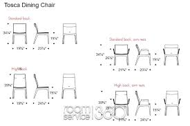 Table And Chair Measurement Other Fine Dining Room Dimensions Regarding