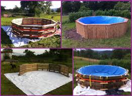 DIY Swimming Pool Out Of Pallets Tutorial