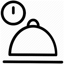 Hot Food Pot Lunch Time Meal Timing Ready Icon