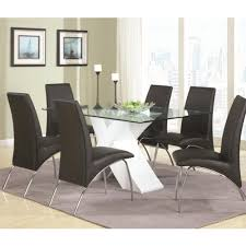 Seven Piece Dining Room Set by Nyc Modern Furniture