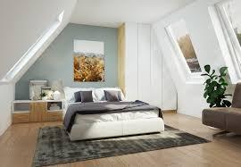 schlafen unter dem dach tipps für möbel unter der dachschräge