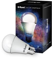 a19 led smart light bulbs six pack ilumi