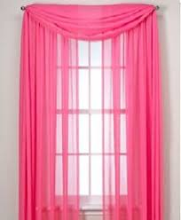 Searsca Sheer Curtains by Sheer Voile Curtains In Soft Pink Filters Light Through Your