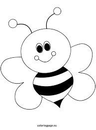 Elegant Bee Coloring Page 78 About Remodel Pages For Kids Online With