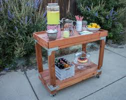 Portable Patio Bar Ideas by Bar Cart How To Make In 26 Diy Ways Guide Patterns