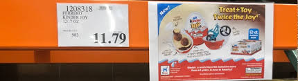 Two Of My Boys Were Excited To See That Costco Now Carries Kinder Joy They Both Lived In European Countries For A Year And Love These