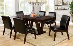 Cheap Kitchen Table Sets Canada by Belinda I Cm3357t Dining Table In Espresso Finish W Options