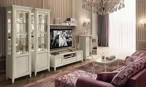wohnzimmer giotto antikweiß holzfurnier