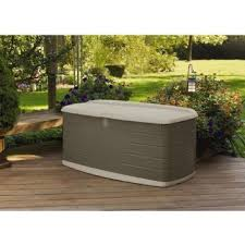 Rubbermaid Patio Storage Bench by Buy Rubbermaid Mini Deck Box Sandstone In Cheap Price On M