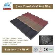tiles type and alu zinc steel material sun