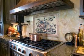 lovely tile murals for kitchen taste