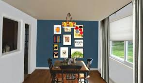 Dining Rooms With Accent Walls Room Wall Green Blue Brown Reclaimed Wood