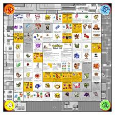 Pokemon Drinking Board Game ENLARGE