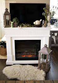 Spring Home Tour Fireplace Mantle DecorationsDecorate