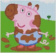 Peppa Pig George Pumpkin Stencil by George Peppa Pig Peppa Pig George Cross Stitch Photo