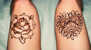 Beautiful Henna Tattoo Designs For Legs