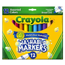 Crayola Bathtub Fingerpaint Soap Non Toxic by Crayola Broad Line Washable Markers Crayola Toys