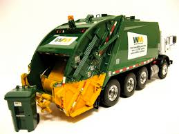 First Gear Waste Management Mack Mr Rear Load Garbage Truck. - A ...