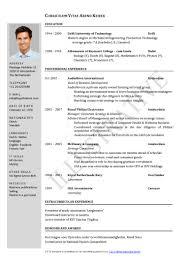 Resume Format For Banking Jobs Sample Job Bank Form Regarding Templates