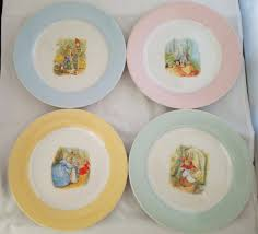 Pottery Barn Kids Peter Rabbit Porcelain Plate 9 | What's It Worth Life At The Zoo Peter Rabbit Nursery Nwt Pottery Barn Kids Peter Rabbit Beatrix Potter Quilt Bumper Baby Shower Invitations Choice Image Handycraft Htf Unused Flopsy Bunnies Novelty Pbk Floor Puzzle 24 Pieces Toys Popsugar Moms 474 Best Peter Rabbit Images On Pinterest Karas Party Ideas Spring Easter With Friends Pottery Barn Kid Crib 1674