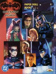 Batman And Robin Paper Doll Book SC 1997 Landolls 1 1ST