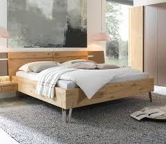 thielemeyer bed cubo 180 x 200 cm oak wood bed bedroom