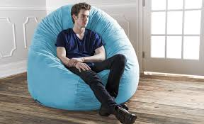 King Fuf Bean Bag Chair by Memory Foam Bean Bag Chair Med Art Home Design Posters