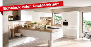 küchenfront echtlack oder lacklaminat faustmann