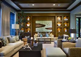 Living Room Theatre Boca Raton Florida by Marc Michaels Interior Design Inc Private Residence 5 In Boca