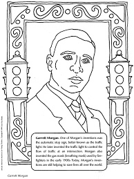 Monthprintablecoloring Black History Coloring Pages Easy To Make Free Of Title Page Printable
