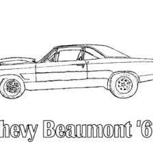 Muscle Cars Coloring Pages Printable Cooloring