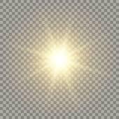 Realistic Sun Clip Art