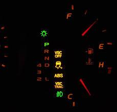 Toyota Camry 1997 2011 Warning Lights Camryforums
