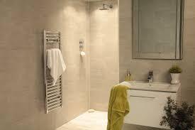 tile effect bathroom cladding wall shower panels sle ebay