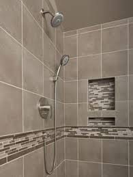 Grey Tiles In Bathroom by Shower Small Bathroom Like Tiles On Shower Floor And Walls Of