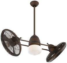 minka aire gyro ceiling fan frrb in restoration bronze with