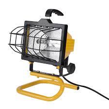 shop utilitech 1 light 500 watt halogen portable work light at