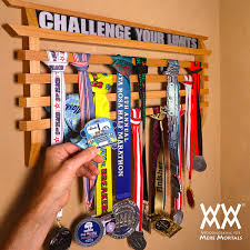 Running Medal Display Rack