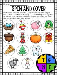 Sounds T G N P Words Their Way Letter Name Supplemental Activities