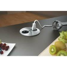 details zu bachmann twist steckdose 2 fach einbau edelstahl steckdosen küche arbeitsplatte