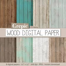 8 Wood Digital Paper Background Printable