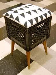 Attractive Milk Crate Stool Milkcrate Digest In Wooden Crates