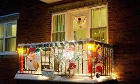 Balcony Decoration For Christmas